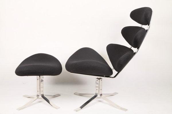 CORONA lounge chair &ottoman