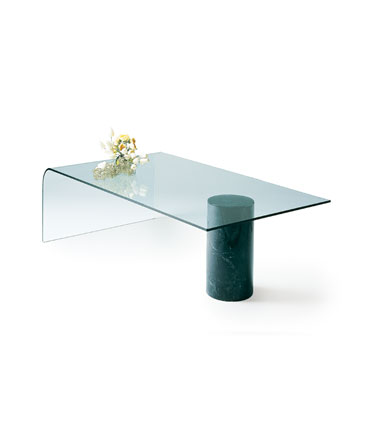 Charles Eames glass coffe table