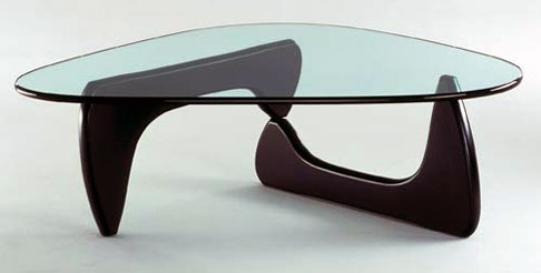 NOGUCHI glass coffe table